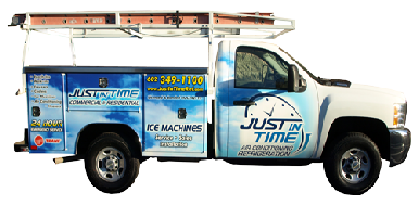 Just In Time Refrigeration Truck
